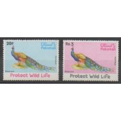 Pakistan - 1976 - Nb 401/402 - Birds
