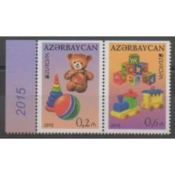 Azerbaïdjan - 2015 - No 898a/899a - Enfance - Europa