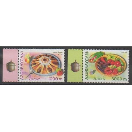 Azerbaïdjan - 2005 - No 523/524 - Gastronomie - Europa