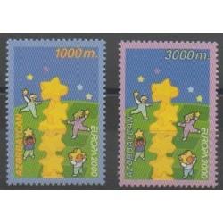 Azerbaïdjan - 2000 - No 393/394 - Europa