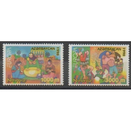 Azerbaïdjan - 1998 - No 359/360 - Europa