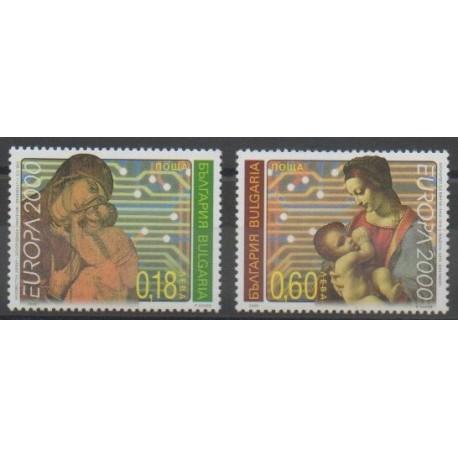 Bulgarie - 2000 - No 3879/3880 - Europa