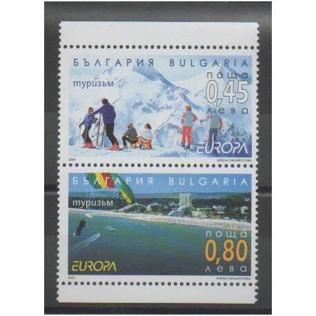 Bulgarie - 2004 - No 4016/4017 - Europa