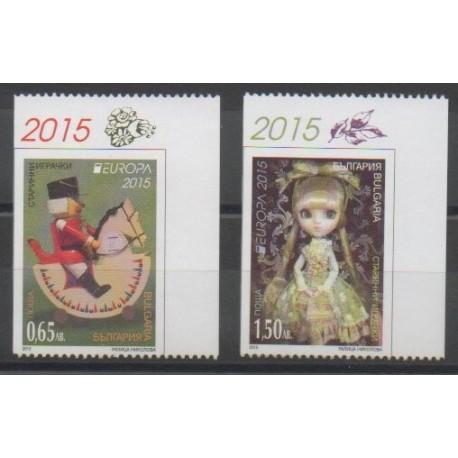 Bulgarie - 2015 - No 4415a/4416a - Enfance - Europa