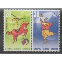 Cyprus - 2002 - Nb 998/999 - Circus - Europa