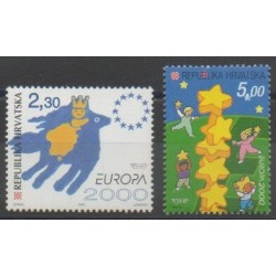 Croatie - 2000 - No 514/515 - Europa