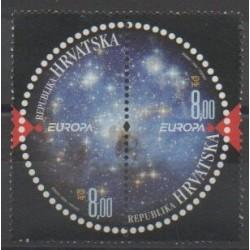 Croatie - 2009 - No 849/850 - Astronomie - Europa
