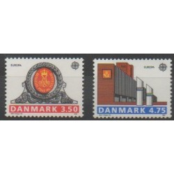 Danemark - 1990 - No 978/979 - Europa