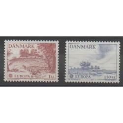 Denmark - 1977 - Nb 640/641 - Europa