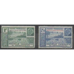 Wallis and Futuna - 1941 - Nb 90/91