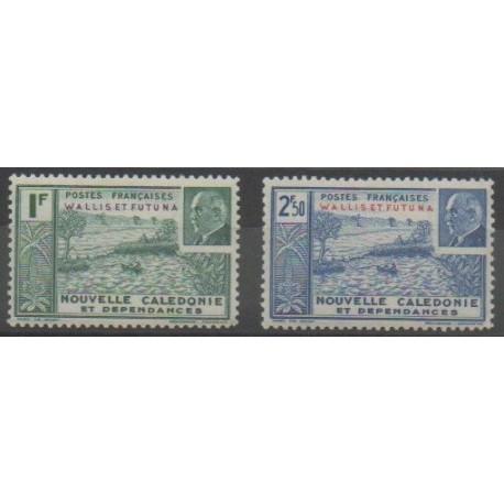 Wallis et Futuna - 1941 - No 90/91