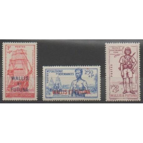 Wallis et Futuna - 1941 - No 87/89
