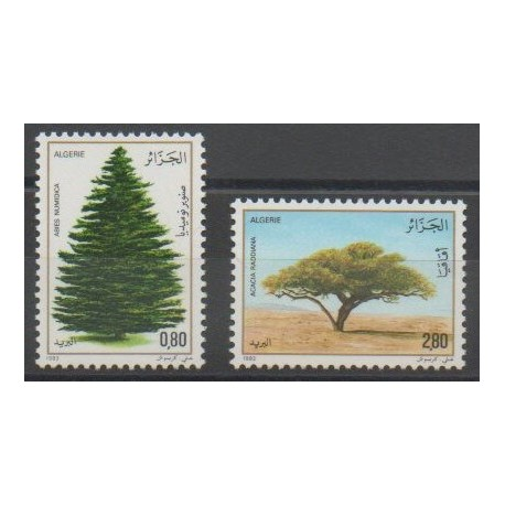Algérie - 1983 - No 779/780 - Arbres