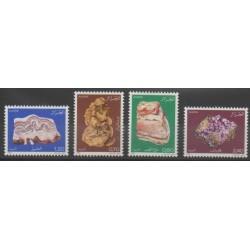 Algérie - 1983 - No 781/784 - Minéraux - Pierres précieuses