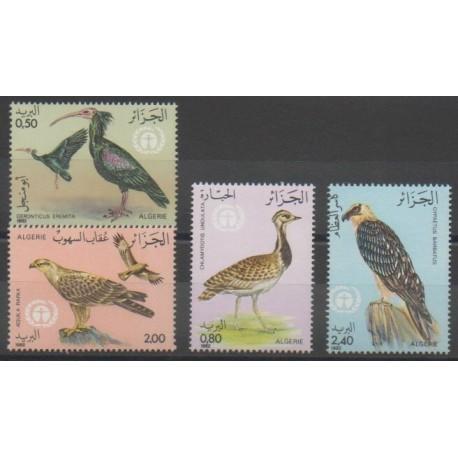 Algérie - 1982 - No 772/775 - Oiseaux