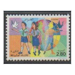 Algeria - 1982 - Nb 770 - Scouts
