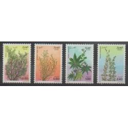 Algeria - 1982 - Nb 762/765 - Flowers