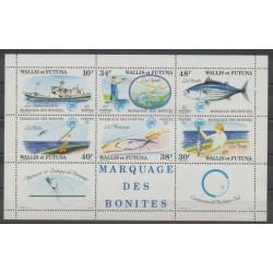 Wallis and Futuna - 1979 - Nb BF2 - Sea animals