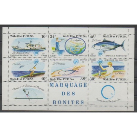 Wallis et Futuna - 1979 - No BF2 - Animaux marins