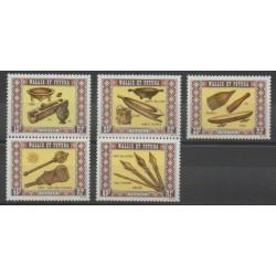 Wallis and Futuna - 1977 - Nb 198/202 - Art