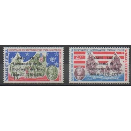 Wallis et Futuna - 1978 - No 208/209 - Navigation