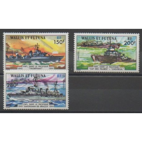 Wallis et Futuna - 1978 - No 210/212 - Navigation