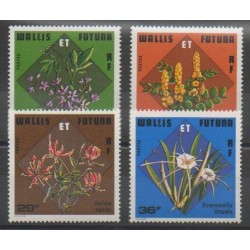 Wallis and Futuna - 1978 - Nb 213/216 - Flowers