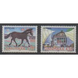 Danemark - 1998 - No 1191/1192 - Europa
