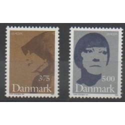 Denmark - 1996 - Nb 1128/1129 - Celebrities - Europa