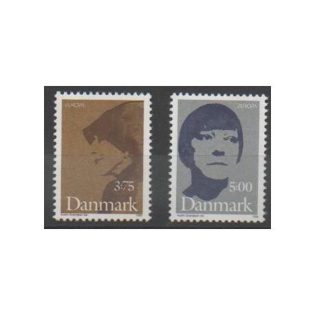 Danemark - 1996 - No 1128/1129 - Célébrités - Europa