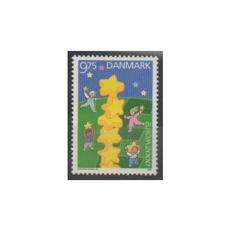 Danemark - 2000 - No 1255 - Europa