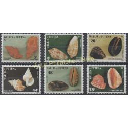 Wallis and Futuna - 1987 - Nb 360/365 - Shells