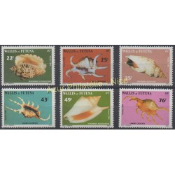 Wallis and Futuna - 1984 - Nb 312/317 - Shells