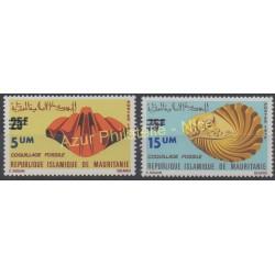Mauritanie - 1974 - No 311/312 - Coquillages