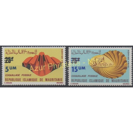 Mauritania - 1974 - Nb 311/312 - Shells