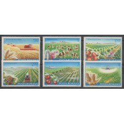 Roumanie - 1982 - No 3388/3392 - Fruits