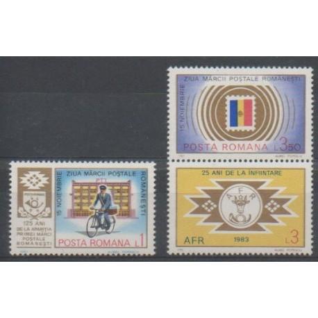 Roumanie - 1983 - No 3462/3464