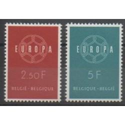 Belgium - 1959 - Nb 1111/1112 - Europa