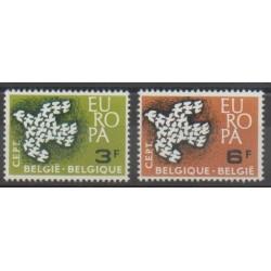 Belgique - 1961 - No 1193/1194 - Europa
