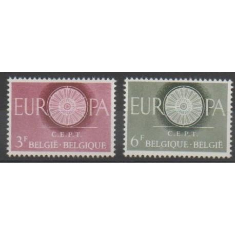 Belgique - 1960 - No 1150/1151 - Europa