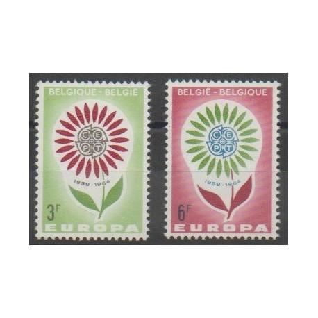 Belgique - 1964 - No 1298/1299 - Europa