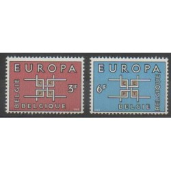 Belgium - 1963 - Nb 1260/1261 - Europa