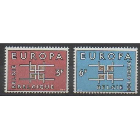 Belgique - 1963 - No 1260/1261 - Europa
