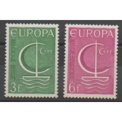Belgium - 1966 - Nb 1389/1390 - Europa