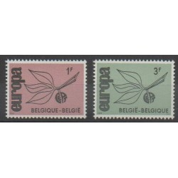Belgique - 1965 - No 1342/1343 - Europa