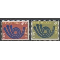 Belgium - 1973 - Nb 1661/1662 - Europa