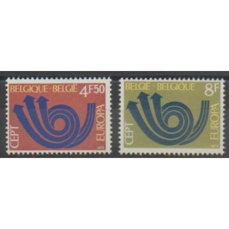 Belgique - 1973 - No 1661/1662 - Europa