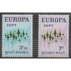 Belgium - 1972 - Nb 1623/1624 - Europa