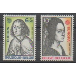 Belgium - 1975 - Nb 1757/1758 - Paintings - Europa