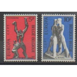 Belgium - 1974 - Nb 1707/1708 - Art - Europa